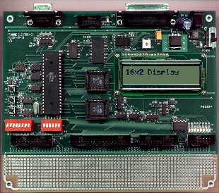 PE8051 Development Board. Click to enlarge